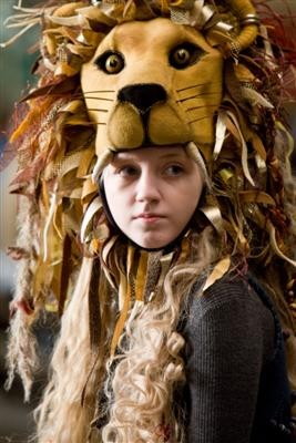 Evanna Lynch como Luna Lovegood