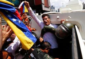 Leopoldo López se entregó a una justicia que no le ofrece garantías.