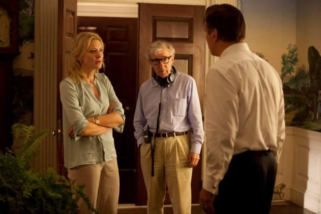 Cate Blanchett, Woody Allen y Alec Baldwin